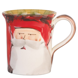 Old St. Nick Mug - Red