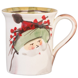 Old St. Nick Mug - Green