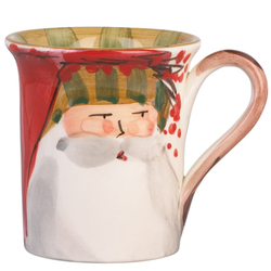 Old St. Nick Mug - Striped