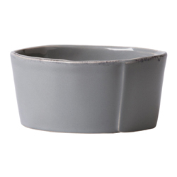 Lastra Gray Condiment Bowl