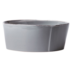 Lastra Gray Cereal Bowl