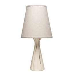 MODERN COLLECTION CREAM RIDGE LAMP