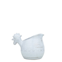 BELLEZZA SKY BLUE SMALL PITCHER W/ ROOSTER HEAD HANDLE