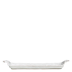 BELLEZZA WHITE SMALL RECTANGULAR TRAY