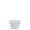 BELLEZZA SKY BLUE SQUARE CONDIMENT BOWL photo