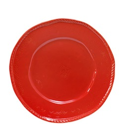 BELLEZZA TOMATO RED DINNER PLATE