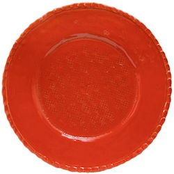BELLEZZA TOMATO RED SERVICE PLATE/CHARGER