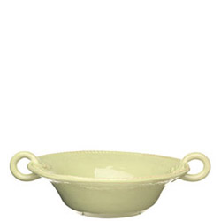 BELLEZZA CELADON MEDIUM HANDLED SERVING BOWL