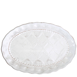BELLEZZA WHITE MEDIUM OVAL PLATTER