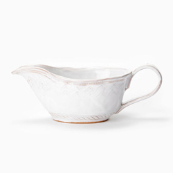 Bellezza White Gravy Boat