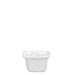 BELLEZZA WHITE SQUARE CONDIMENT BOWL