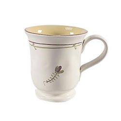 FIORI DI BOSCO FOOTED MUG