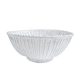 INCANTO STRIPE MED SERVING BOWL   photo