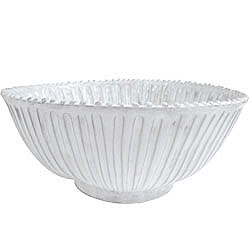 INCANTO STRIPE LG SERVING BOWL