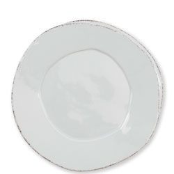 Lastra Light Gray European Dinner Plate photo
