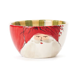 Old St. Nick Cereal Bowl - Red Hat photo
