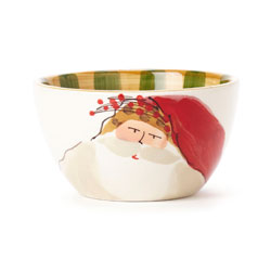 Old St. Nick Cereal Bowl - Animal Hat photo