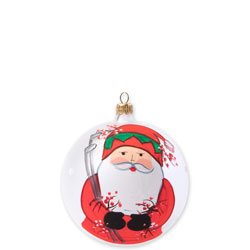 Old St. Nick Golfing Ornament photo