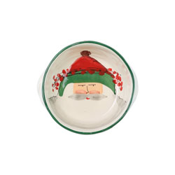 Old St. Nick Small Handled Round Baker photo