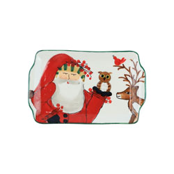 Old St. Nick 2019 Limited Edition Rectangular Plate photo