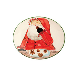 Old St. Nick Cookie Plate