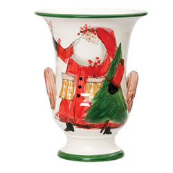 Old St. Nick Footed Vase