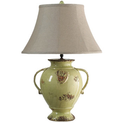 Pistachio Emblem Lamp - New Shade